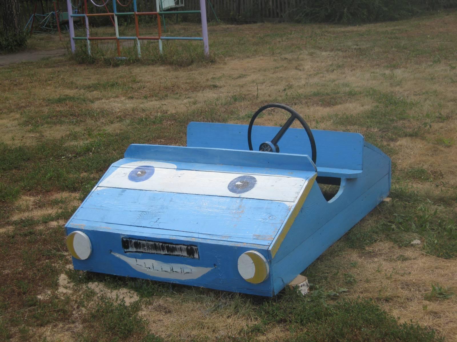 Сделать машинку своими руками для детского сада
